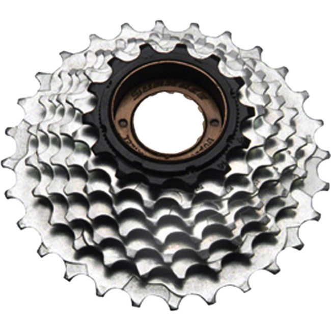 SunRace 7 Speed Freewheels - 14-28t (Silver)