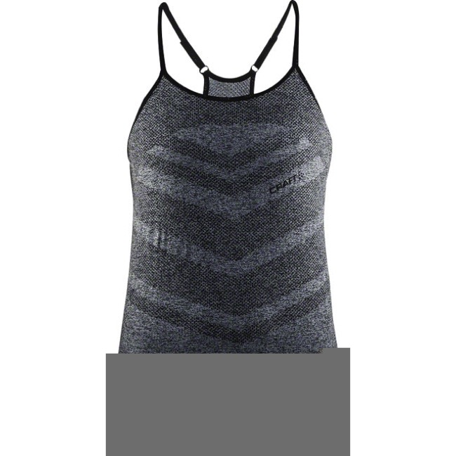 Craft Cool Comfort Women's Singlet - Black Melange - Small (Black Melange)