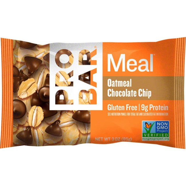 ProBar Meal Bars - Oatmeal Chocolate Chip (Box of 12)