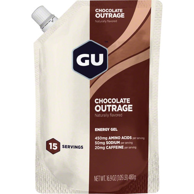 GU Energy Gel - Chocolate Outrage (15 Serving Pouch)