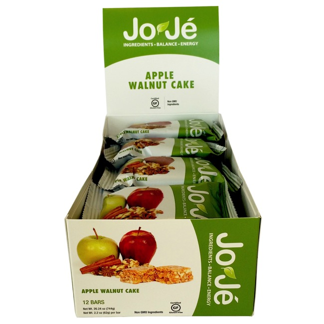 JoJe' Bars - Apple Walnut Cake (Box of 12)
