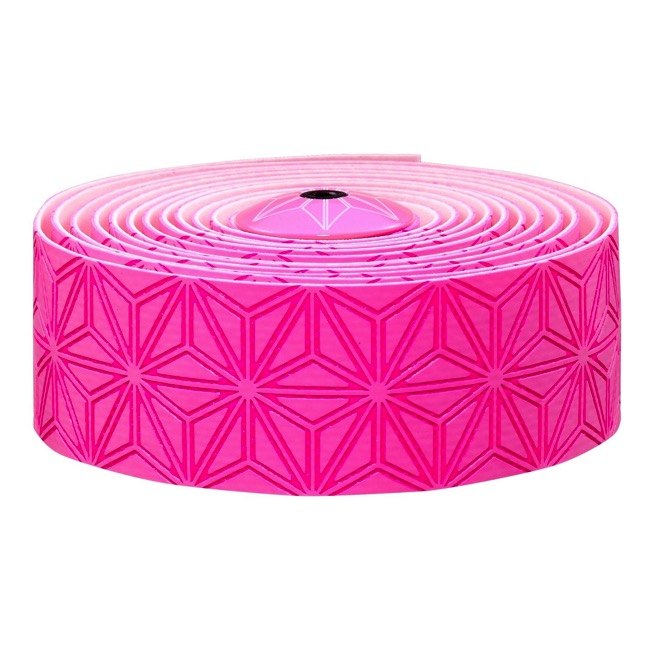 Supacaz Super Sticky Kush Bar Tape - Neon Pink