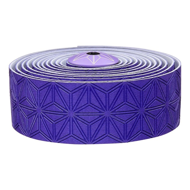 Supacaz Super Sticky Kush Bar Tape - Neon Purple