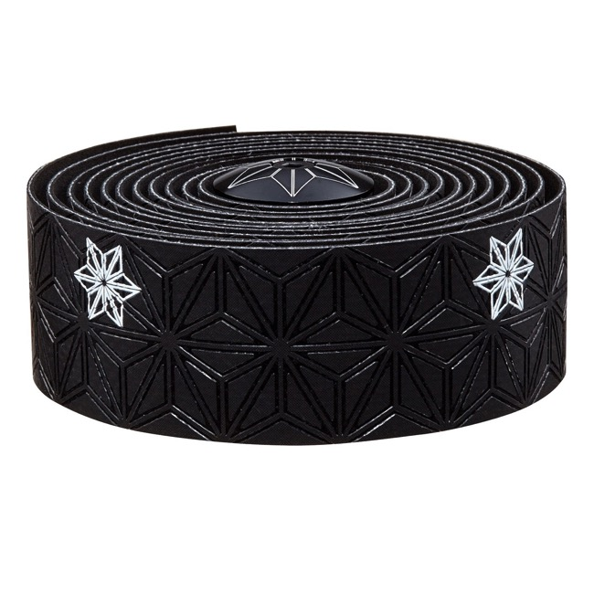 Supacaz Super Sticky Kush Bar Tape - Galaxy Black w/White