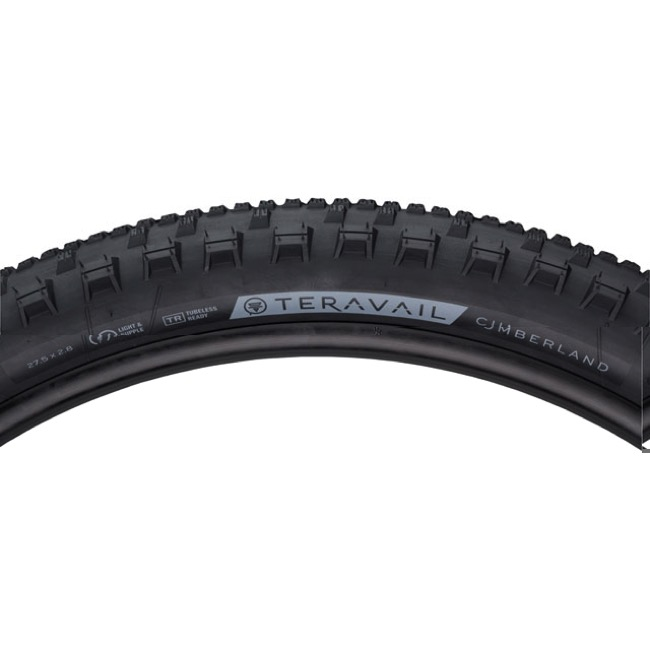 "Teravail Cumberland Light & Supple TR 27.5""+ Tire - 27.5 x 2.8"" (Folding Bead)"
