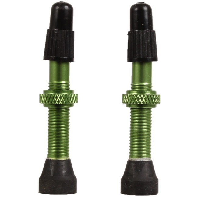 Industry Nine Torch Tubeless Valve Stems - 39mm Valve, Pair (Lime)