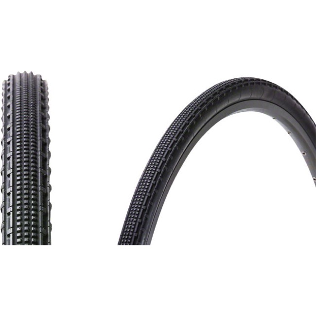 Panaracer GravelKing SK Tubeless Ready Tires - 700 x 43c, Folding Bead (Black)