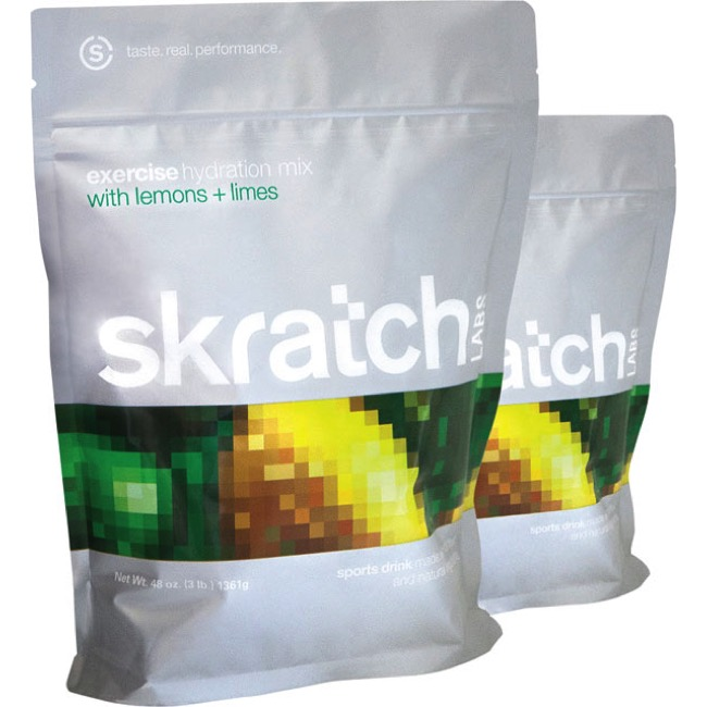 Skratch Labs Exercise Hydration Drink Mix - Lemons and Limes (60 Servings Bag)