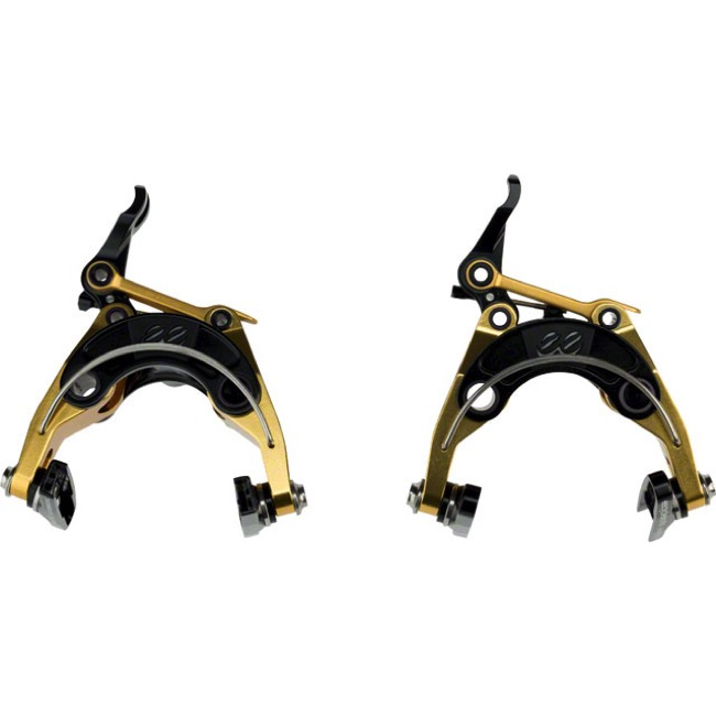 Cane Creek eeBrake El Dorado Road Caliper Set - Front and Rear Set (El Dorado Gold/Black)
