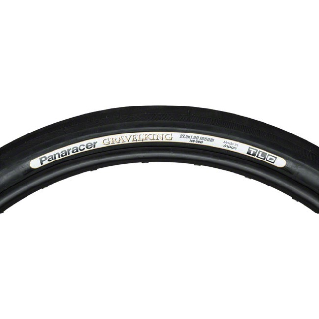 "Panaracer GravelKing Slick TR 27.5"" (650b) Tire - 27.5 (650b) x 48mm (Black)"
