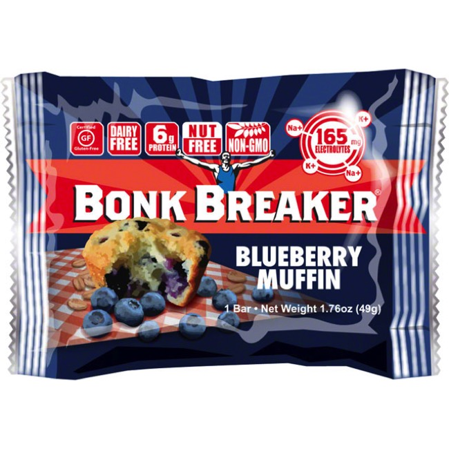 Bonk Breaker Energy Bars - Blueberry Muffin (Box of 12)