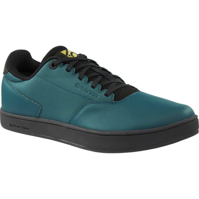 Five Ten District Clipless Shoe - Utility Green - 7.5 (Utility Green)