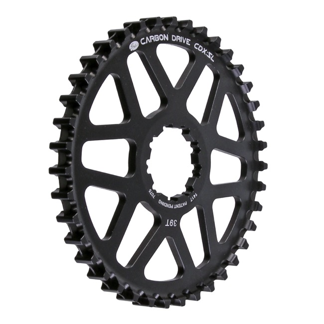 Gates Carbon Drive CDX:SL CenterTrack Rear Cog - 39 Tooth (Hyperglide)