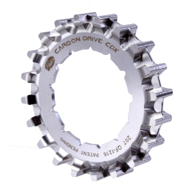 Gates Carbon Drive CDX CenterTrack Rear Cog - 20 Tooth (Rohloff Splined)