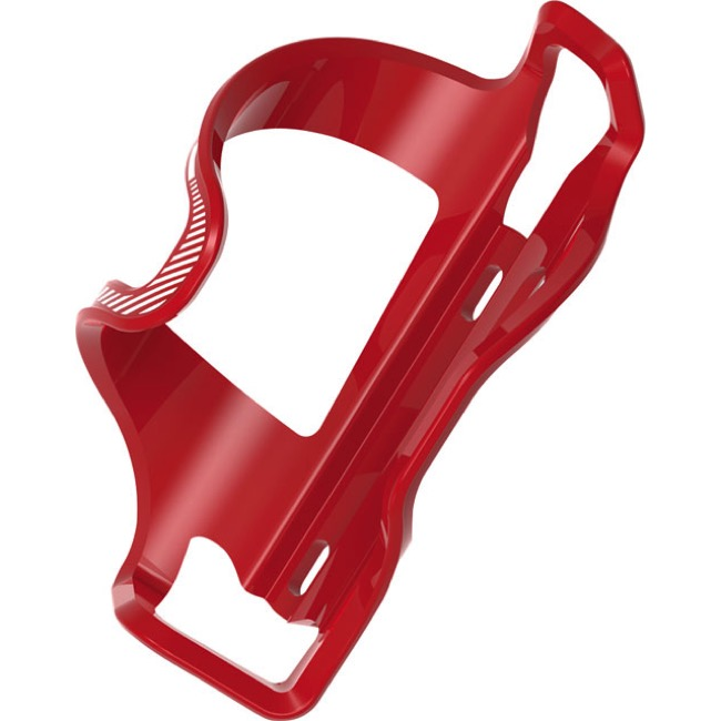 Lezyne Flow SL Side Load Bottle Cage - Right Entry (Red)