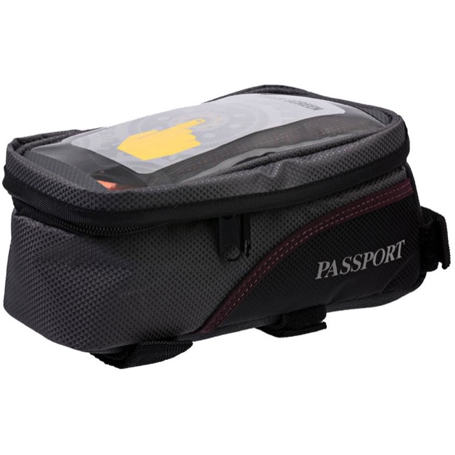Passport Top Tube Bag - Grey