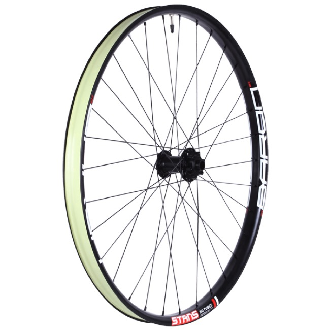 "Stans ZTR Baron MK3 Tubeless 27.5"" Front Wheels - 27.5"" x 32 Hole x 15x100mm TA (Front Only)"