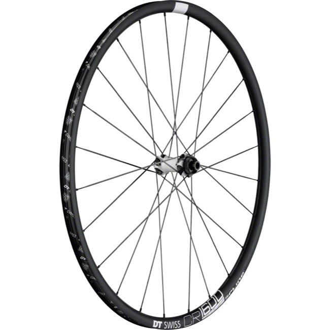 DT Swiss CR1600 db23 Spline Disc Wheels - 700c Front, 9x100mm QR/12x100mm TA/15x100mm TA (Black)