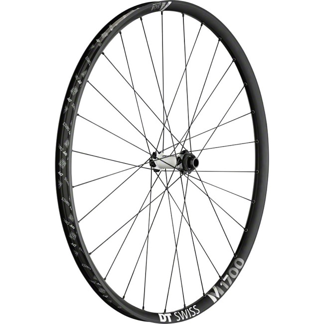 "DT Swiss M 1700 SPLINE 30 ""Boost"" 27.5"" Wheels - Front Only, 27.5"" x 15x110mm ""Boost"" TA (Black/Silver)"