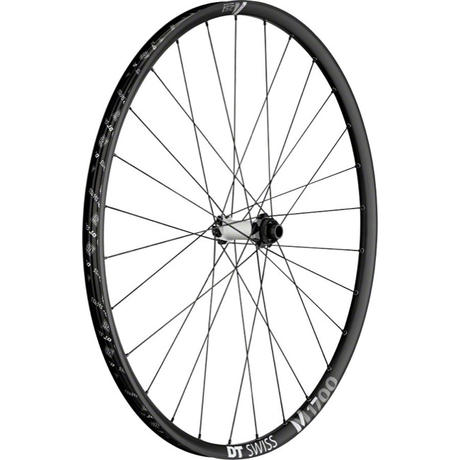 "DT Swiss M 1700 SPLINE 25 29"" Wheels - Front 29"" x 15x100mm Thru Axle (Black/Silver)"