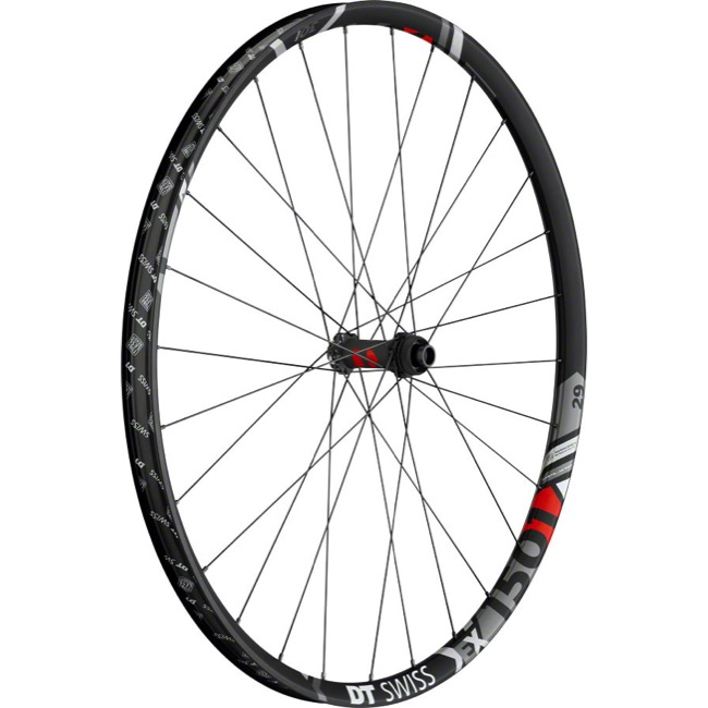 "DT Swiss EX 1501 SPLINE 30 ""Boost"" 29"" Wheels - Front 29"" x 15x110mm ""Boost"" Thru Axle (Black)"