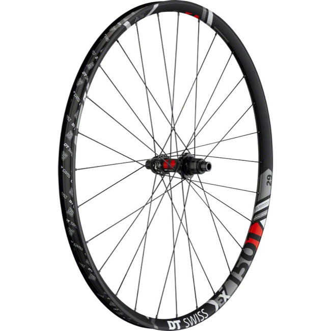 "DT Swiss EX 1501 SPLINE 30 ""Boost"" 29"" Wheels - Rear 29"" x 12x148mm ""Boost"" Thru Axle, Shimano HG/Sram XD (Black)"