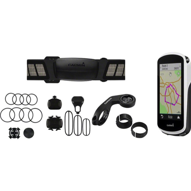 Garmin Edge 1030 GPS Computer - Bundle Version