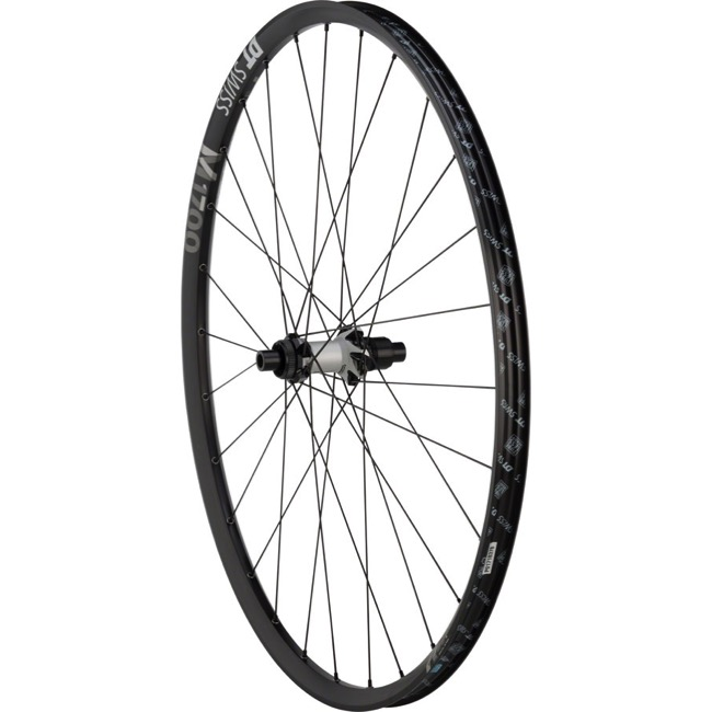 "DT Swiss M 1700 SPLINE 25 29"" Wheels - Rear 29"" x 12x142mm Thru Axle, Sram XD (Black/Silver)"