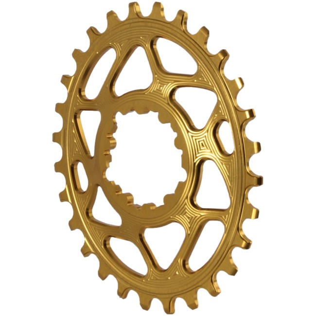 Absolute Black ovale Direct Boost 148/Bicycle Chainring/ /SROVBOOST30GL /30T Gold/