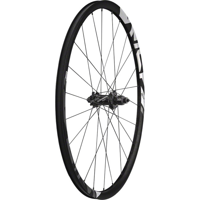 "Sram Rise 60 B1 ""Boost"" 27.5"" Carbon Wheels - Rear 27.5"" x 12x148mm ""Boost"" TA, Sram XD (Black)"