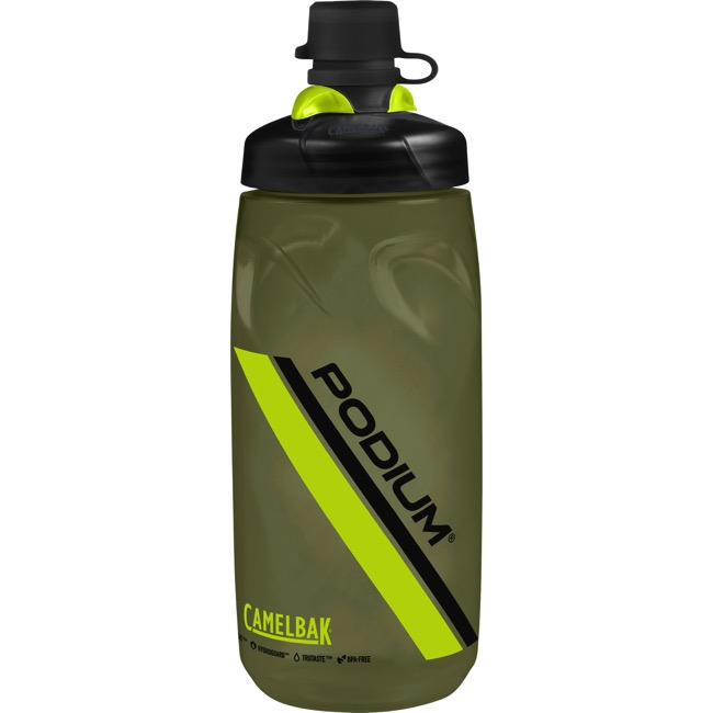 Camelbak Podium Dirt Series Water Bottles - 21 Ounce - 21 oz. (Olive)