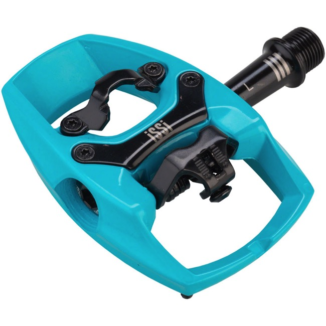 iSSi Flip III Pedals - Pair (Teal)