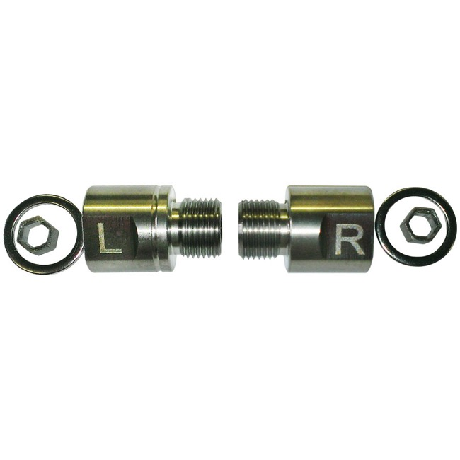 Bike Fit Systems +20mm Pedal Spacers - Pair (For Pedals w/Hex Fitment)