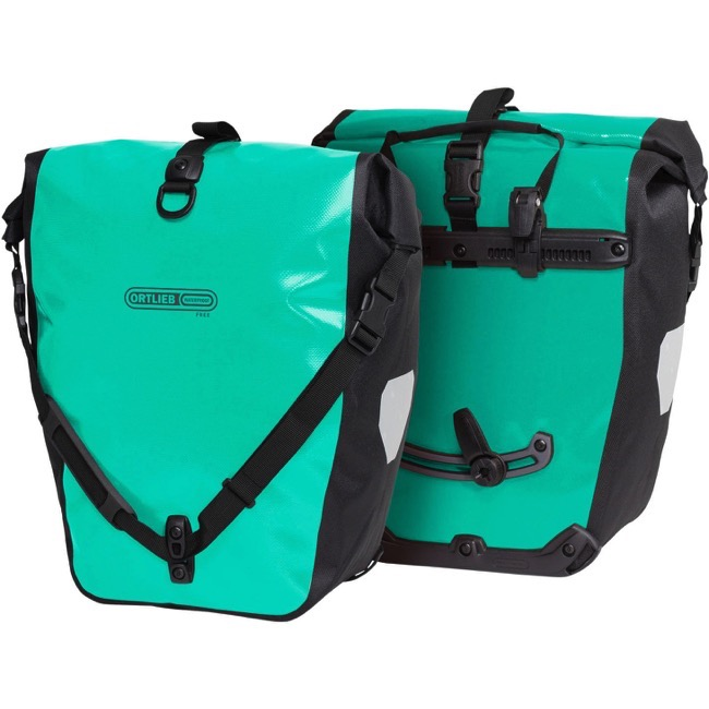 NEW FREE INT SHIPPING ORTLIEB BACK ROLLER CLASSIC PANNIER BAG SET