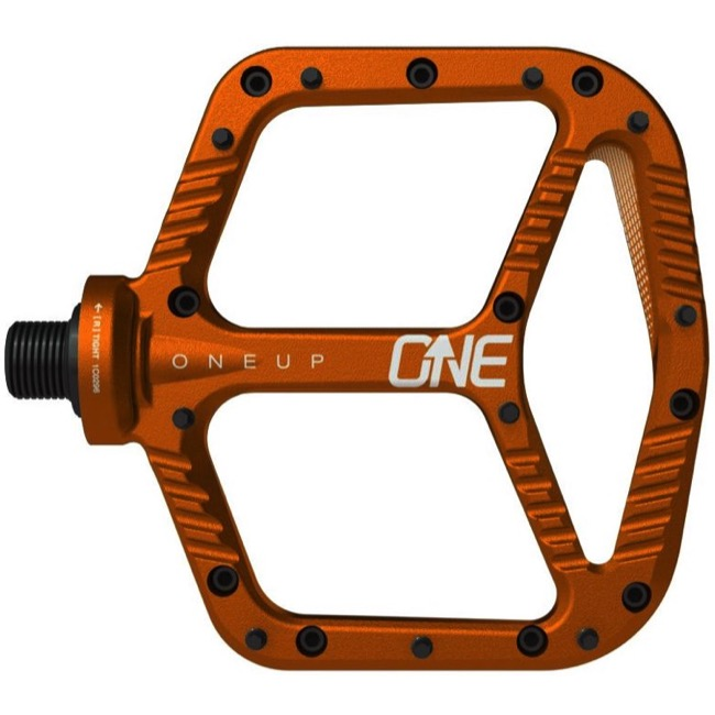 OneUp Components Aluminum Platform Pedals - Pair (Orange)