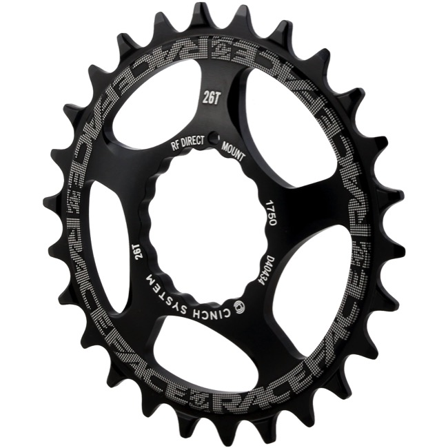 Race Face Direct Mount Cinch Narrow Wide Chainring - 2018 - 26 Tooth x Direct Mount (Black)