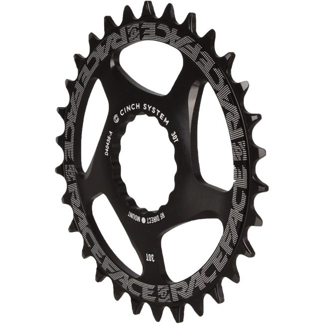 Race Face Direct Mount Cinch Narrow Wide Chainring - 2018 - 30 Tooth x Direct Mount (Black)