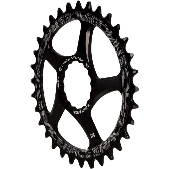 Race Face Direct Mount Cinch Narrow Wide Chainring - 2018 - 32 Tooth x Direct Mount (Black)
