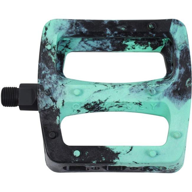 "Odyssey Twisted PC Pedals - 9/16"" - Pair (Black/Mint Swirl)"