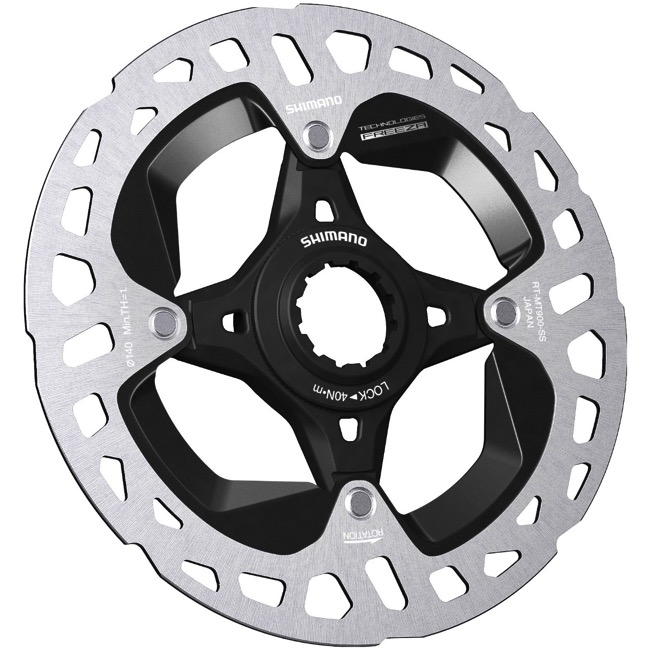 Disc Brake Rotors >> Shimano Centerlock Disc Brake Rotors Sm Rtmt900ss 140mm Centerlock Rotor