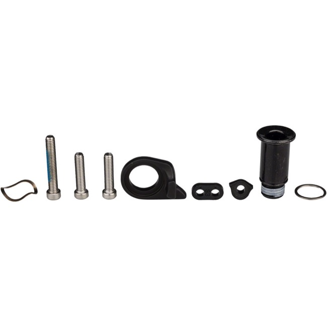 Sram Mountain Rear Derailleur Parts - GX Eagle B-Bolt and Limit Screw Kit, 12 Speed (Black)