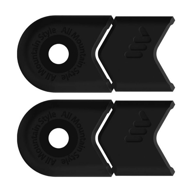 All Mountain Style Crank Defenders - Pair (Black)