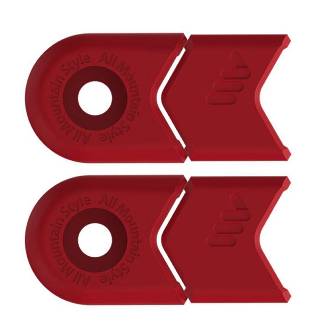 All Mountain Style Crank Defenders - Pair (Red)