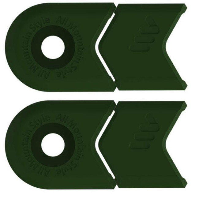 All Mountain Style Crank Defenders - Pair (Green)