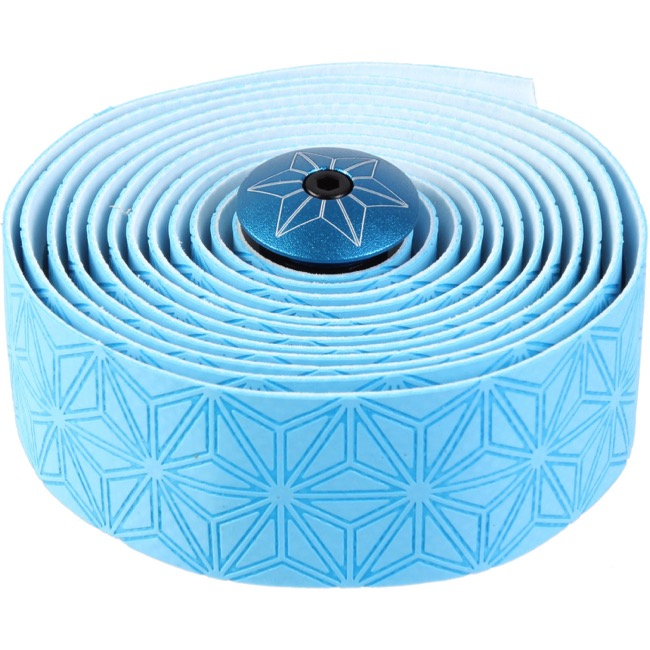 Supacaz Super Sticky Kush Bar Tape - Neon Ice Blue
