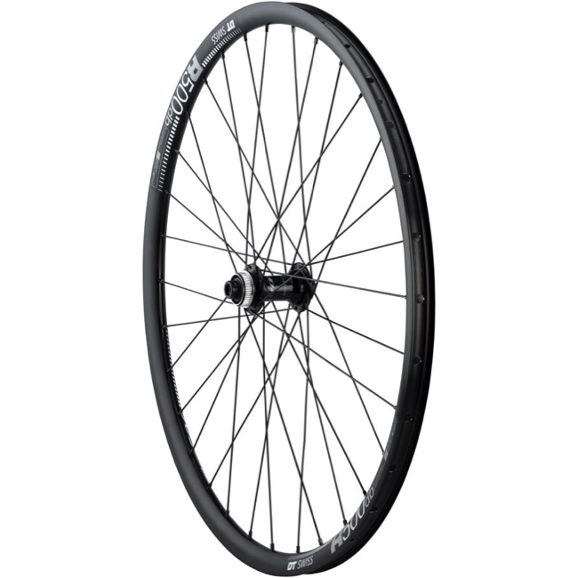 Quality Shimano 105 R7070/DT Swiss R500db F Wheel - 650b x 32h x 12x100mm Thru Axle (Black)