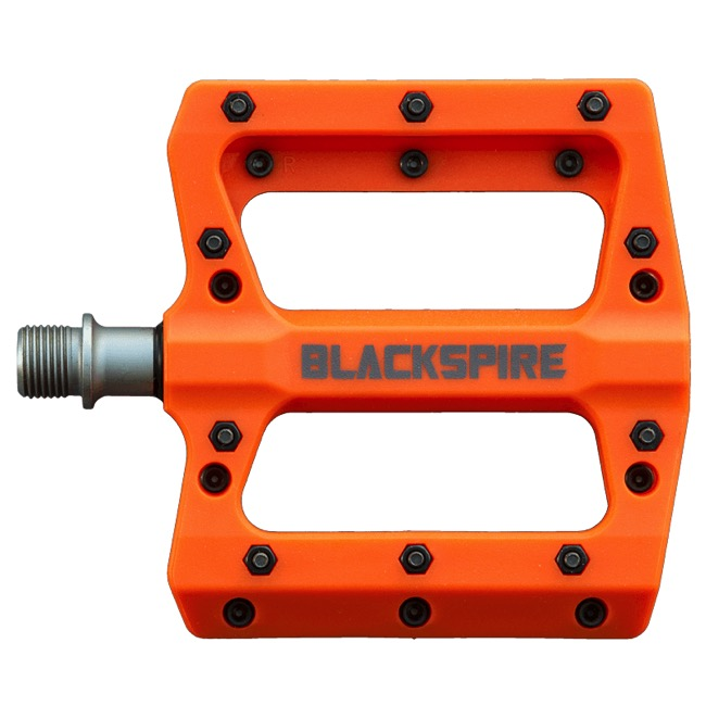 Blackspire Nylotrax Pedals - Pair (Orange)