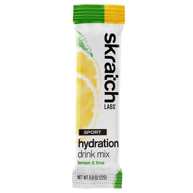 Skratch Labs Sport Hydration Drink Mix - Lemons and Limes (Single Serving)