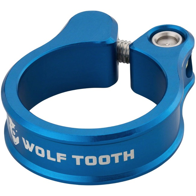 Wolf Tooth Components Seatpost Clamp - 31.8mm (Blue)