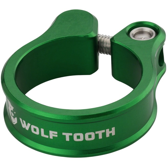 Wolf Tooth Components Seatpost Clamp - 31.8mm (Green)